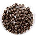 Matubo Superduo - Dark bronze mat - 2/5 mm