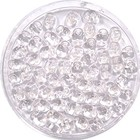 Matubo Superduo - Crystal white lined - 2/5 mm