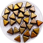 Khéops® par Puca® - Crystal gold rainbow - 6mm