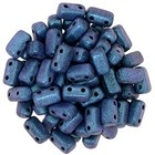 Bricks - 3/6mm - Polychrome - Indigo Orchid