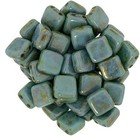 Tiles - 6mm - Bronze Picasso - Turquoise