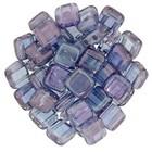 Tiles - 6mm - Luster - Transparent Amethyst