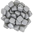 Tiles - 6mm - Pearl Coat - Silver