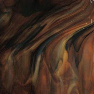 Bullseye - Woodland brown ivory - Coe 90 - 12.5x16cm