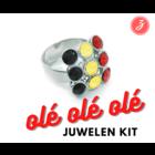 Ole Ole - Ring - 9 Steentjes