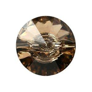 3015 - Button - 12mm - Light Colorado Topaz