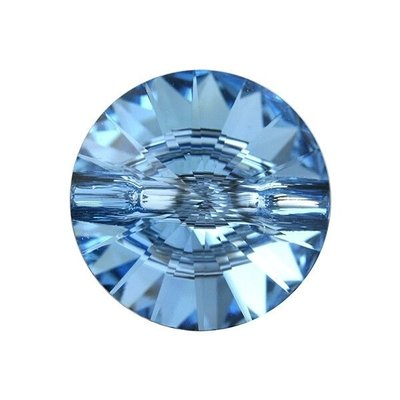 3015 - Button - 12mm - Aquamarine