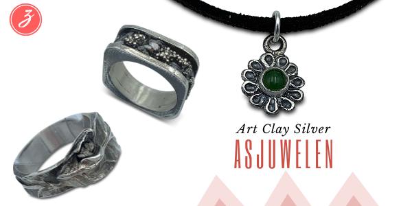 Asjuwelen in Art Clay Silver