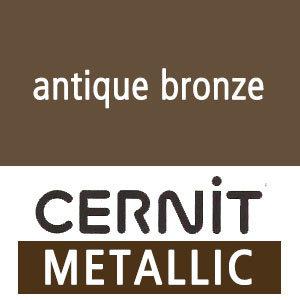 Cernit Cernit - Antiek brons - Metallic - 56 gram
