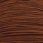 Cordon flexible - wire wire - donker bruin