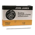 John James naalden #12 (0.12mm - 0.15mm Fireline) - 25 stuks/pak