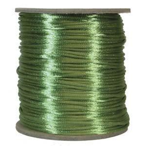 Satijnkoord 2mm Apple Green