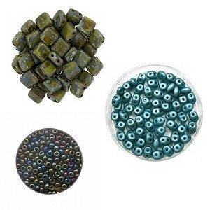 Crea-pakket - Armband Alane - Turquoise