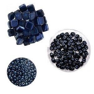 Crea-pakket - Armband Alane - Donkerblauw