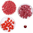 Halsketting PIP beads - Rood