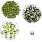 Halsketting PIP beads - Olijfgroen