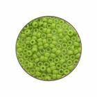 Rocailles Miyuki 15/0 - Appelgroen Opaque - N°416 - 15gr