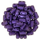 Bricks - 3/6mm - Metallic Suede - Purple
