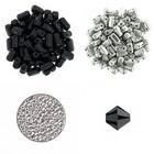 Halsketting Palaso met Bricks - Zwart/zilver