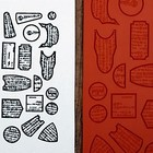 HattieS Embossed Effects Texture Mat - Jewelry Shapes 2