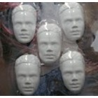 Powertex African prince - 5 halve hoofdjes