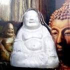 Powertex Smiling Buddha