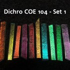 Effetre Dichroic On Clear - Sampler Set 1