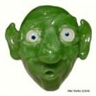 Glass Alchemy 458 - Green sparkle
