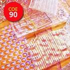 Premium dichroic scrap clear - COE 90