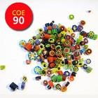 Millefiori klein - mix - 25 gram - COE 90