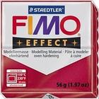 FIMO Fimo effect 28 - Robijn rood - 56 gram