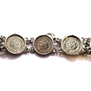 Armband - cirkelvormig plateau - 15mm