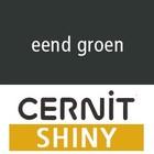 Cernit SHINY Eend groen (89-630) - 56 gram