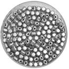 Minos® - Silver Aluminium Mat - 2.5x3mm