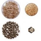Tania armband - Chocolade/Topaz