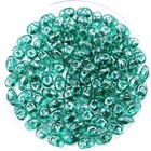 MiniDuo - Emerald Luster - 2x4mm