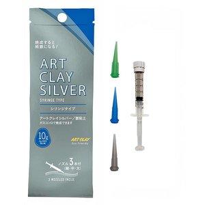 Art Clay Silver ACS 650 spuitpasta 10 gram - 3 spuitmondjes