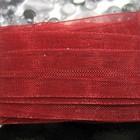 Organza - Rood - 12 mm