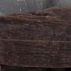 Organza - Bruin - 12 mm