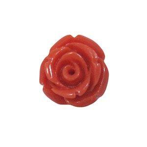 Bloem - 12 mm - synthetisch - koraal