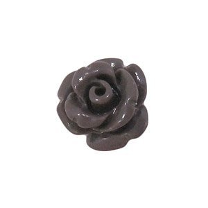 Bloem - 10 mm - synthetisch - donkergrijs