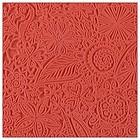 Soepele textuurmat - 90x90mm - Flowers