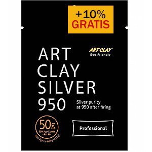 Art Clay Silver ACS 950 zilverklei 50 gram + 10% extra