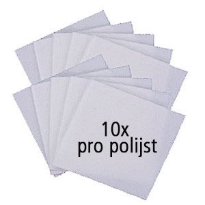 Art Clay Silver Pro-polijstpads - 10 stuks