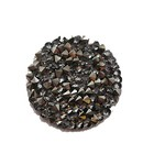Crystal rock - Crystal silver shade black - 30mm