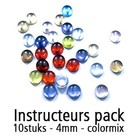 Instructeurs Pack - 10 stuks - Kleurmix - 4mm