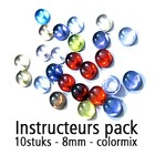 Instructeurs Pack - 10 stuks - Kleurmix - 8mm