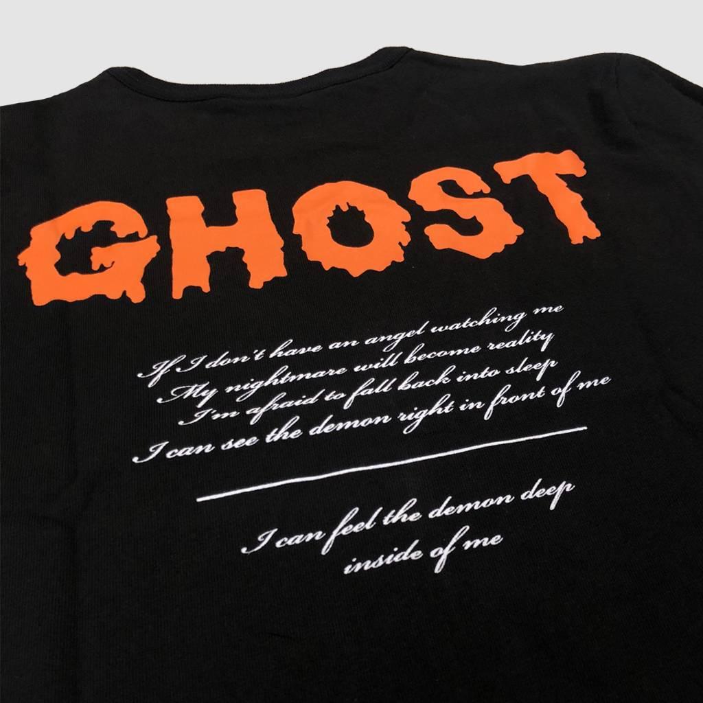 Ghost Stories  Logo & Orange Drip T-shirt