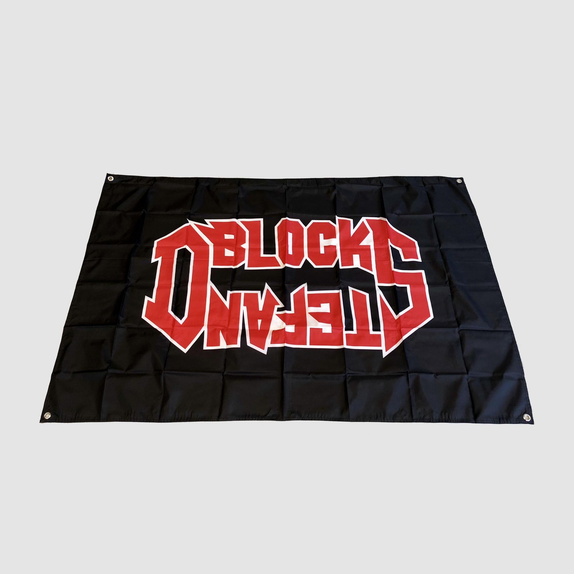D-BLOCK & S-TE-FAN   ROCK STYLE LOGO FLAG
