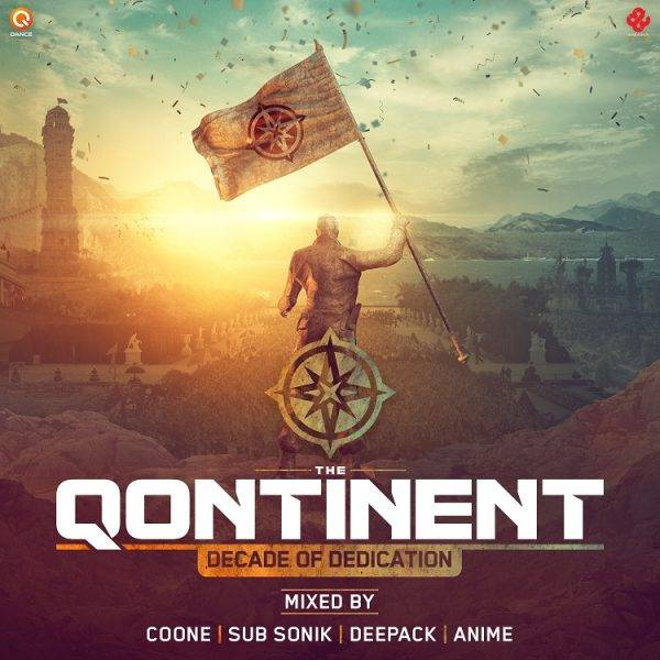 The Qontinent - Decade Of Dedication CD